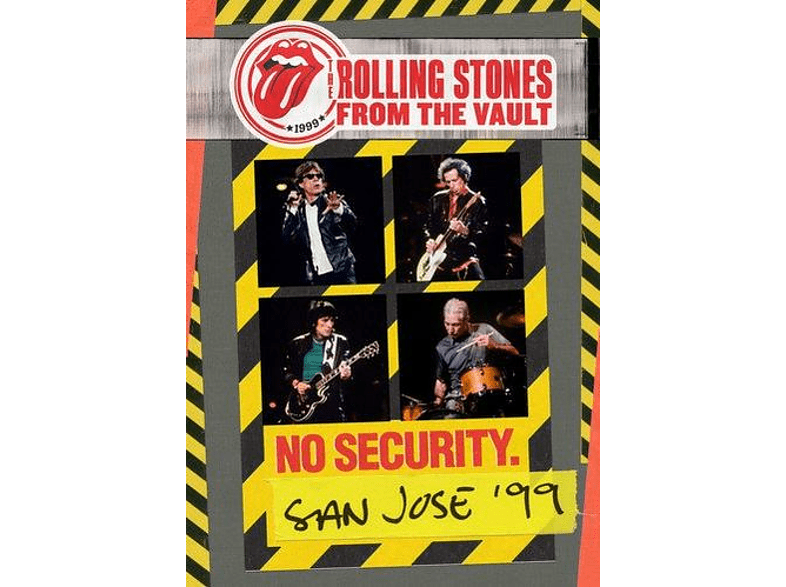 The Rolling Stones - From The Vault: No Security-San Jose 1999 (DVD) [DVD]