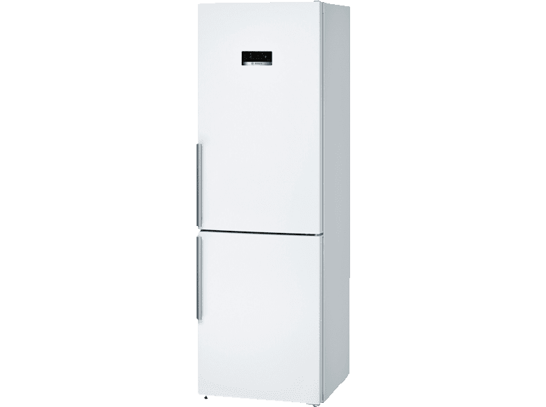 BOSCH KGN36XW4P Serie 4 Kühlgefrierkombination (A+++, 173 kWh/Jahr, 1860 mm hoch, Weiß)