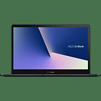 ASUS UX580GE-E2048T, Notebook mit 15.6 Zoll Display, Core™ i9 Prozessor, 16 GB RAM, 1 TB SSD, GeForce® GTX 1050 Ti, Deep Dive Blue