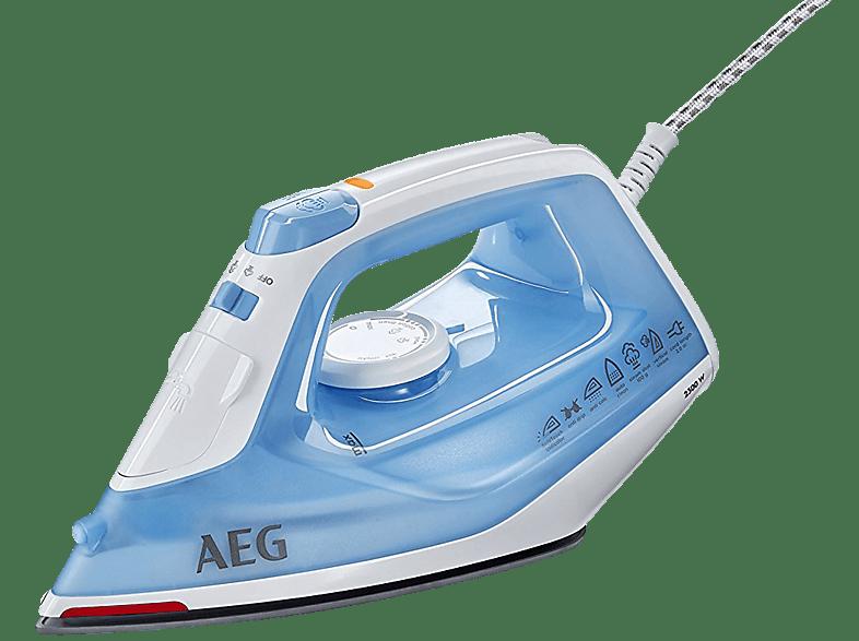 AEG DB1730 Dampfbügeleisen (SoftGlide™ Keramiksohle mit 26 aktiven Dampfaustrittsöffnungen)