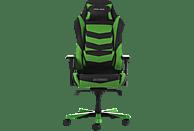 DXRACER Iron I166 Gaming Chair, Black/Green Gaming Stuhl, Schwarz Grün