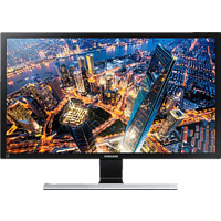 SAMSUNG U28E590D LED 28 Zoll UHD 4K Monitor (1 ms Reaktionszeit, FreeSync, 60 Hz)