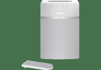 BOSE SoundTouch 10, Streaming Lautsprecher, Weiß