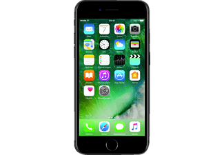 APPLE iPhone 7, Smartphone, 32 GB, Schwarz
