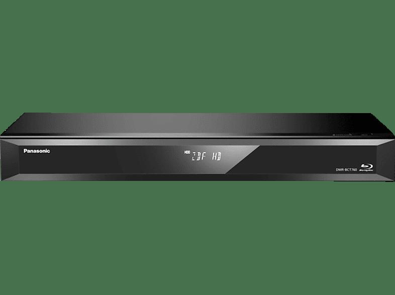 PANASONIC DMR-BCT760EG Blu-ray Recorder 500 GB, Schwarz