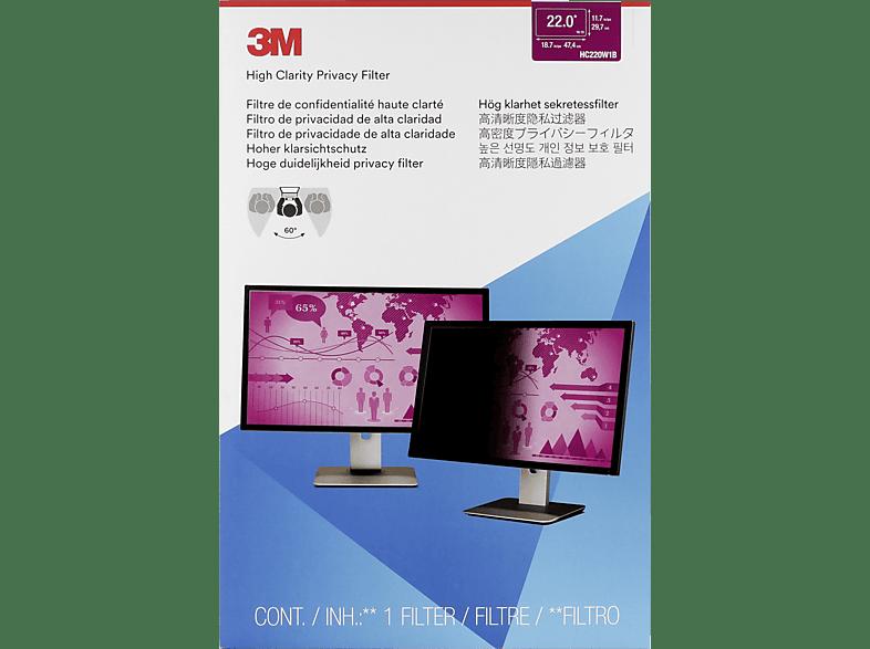3M HC220W1B, Blickschutzfolie