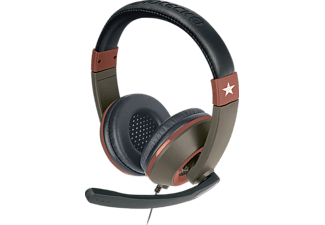 GIOTECK XH-100 - WIRED STEREO HEADSET (Military Edition), Gaming Headset, Schwarz