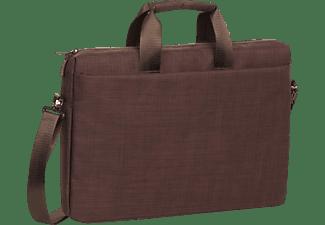 RIVACASE 8335 Notebooktasche Aktentasche für Universal Polyester, Braun