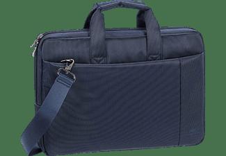 RIVACASE 8221 Notebooktasche Sleeve für Universal Polyester, Blau