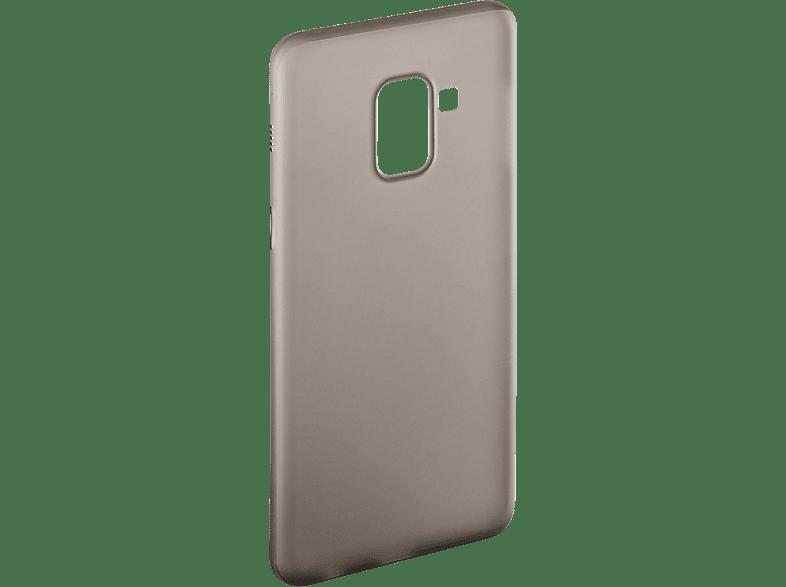 HAMA Ultra Slim , Backcover, Samsung, Galaxy A6 (2018), Kunststoff, Schwarz