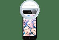 REALPOWER EVA selfie light Smartphone Ringlicht Weiß/Grau