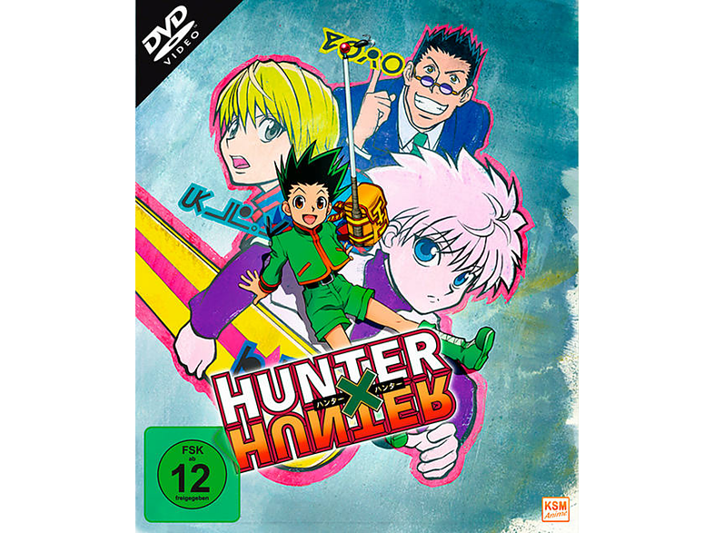 HUNTERxHUNTER - Volume 1 - Episode 01-13 [DVD]