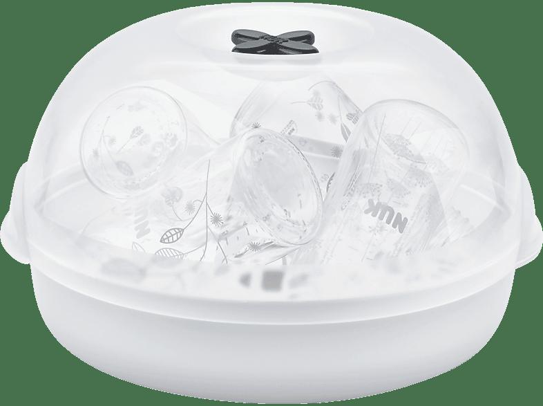 NUK Micro Express Plus Sterilisator Mikrowelle Weiß