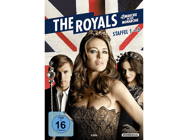 The Royals - Staffel 1-3 [DVD]
