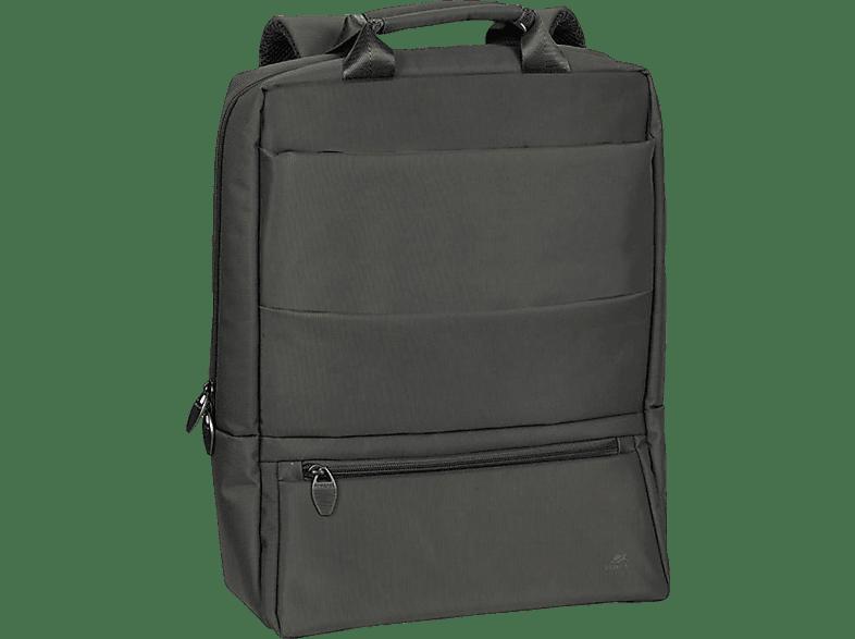 RIVACASE 8660 Notebook Rucksack, Rucksack, 15.6 Zoll, Schwarz