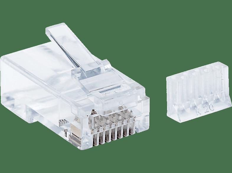 INTELLINET 90er-Pack Cat6 RJ45, Modularstecker