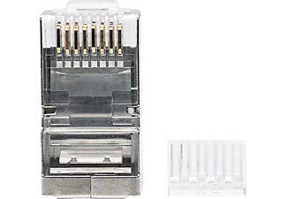 INTELLINET 90er-Pack Cat6 RJ45, Modularstecker