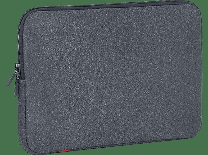 RIVACASE 5113 Notebooktasche, Sleeve, 12 Zoll, Grau