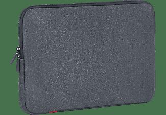 RIVACASE 5123 Notebooktasche Sleeve für Universal Neopren, Grau
