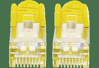 INTELLINET Cat7-Rohkabel S/FTP Cat6a-Stecker, Patchkabel, 1,5 m