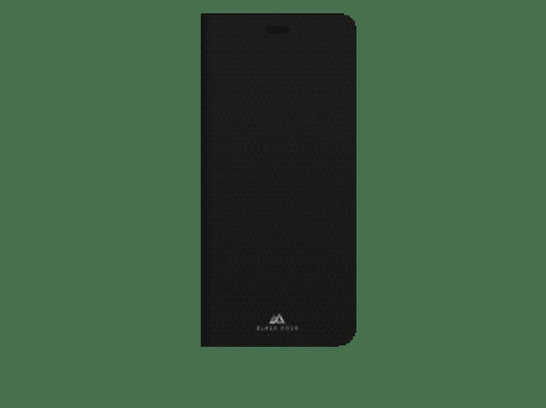 BLACK ROCK Booklet The Standard , Bookcover, Samsung, Galaxy A8 (2018) , Polyurethan, Schwarz