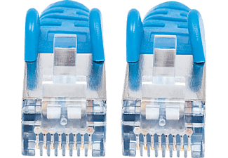 INTELLINET Cat7-Rohkabel S/FTP Cat6a-Stecker, Patchkabel, 2 m