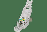 INTELLINET Werkzeugloser RJ45-Stecker, Modularstecker