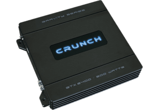 CRUNCH GTX-2400 - Amplificatore (Nero)