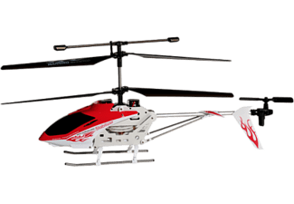WIRELESSINPUT iSuper iHeli 032 - Appgesteurter Helicopter (Weiss/rot)
