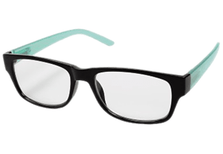 HAMA 96265 READ GLASSES +3.0D BLACK/TURQUOISE - Lesebrille
