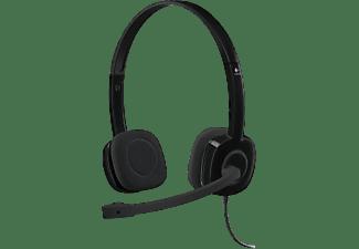 Versione Italiana Logitech Stereo Headset H110 Cuffia,Microfono