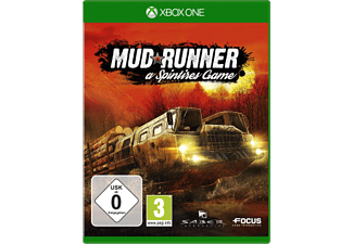 Xbox One - Spinteres Mud Runner /D