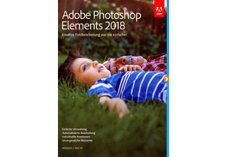PC/Mac - Photoshop Elements 2018 (Upgrade) /D