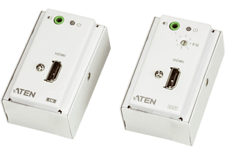 ATEN VE807 - HDMI/Audio Cat 5 Extender (Weiss)