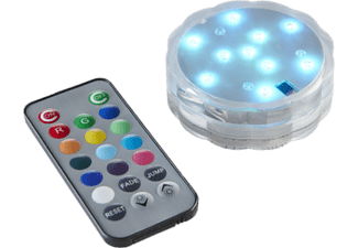 STAR TRADING 063-02 WATER CANDLE MULTICOLOR+REMOTE - LED-Kerze