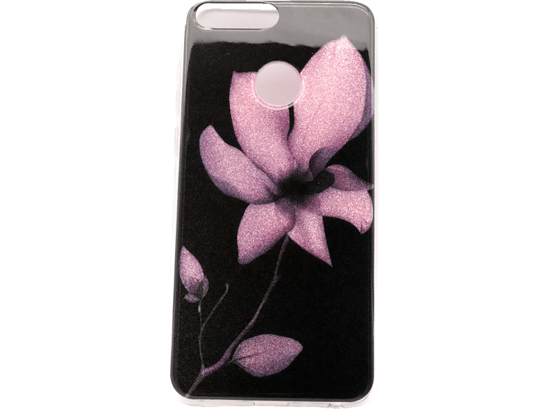 AGM 27147 Backcover Flower , Backcover, Huawei, P Smart, Kunststoff, Mehrfarbig