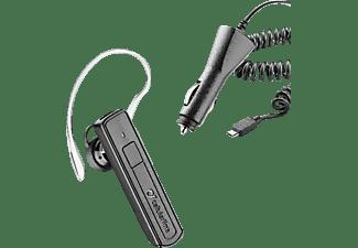 CELLULAR LINE Vox Bluetooth Mono Headset + Kfz-Ladegerät Set Bluetooth Schwarz