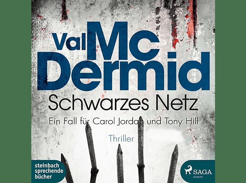 Wolfgang Berger - Schwarzes Netz - Ein Fall für Carol Jordan und Tony Hill - (MP3-CD)