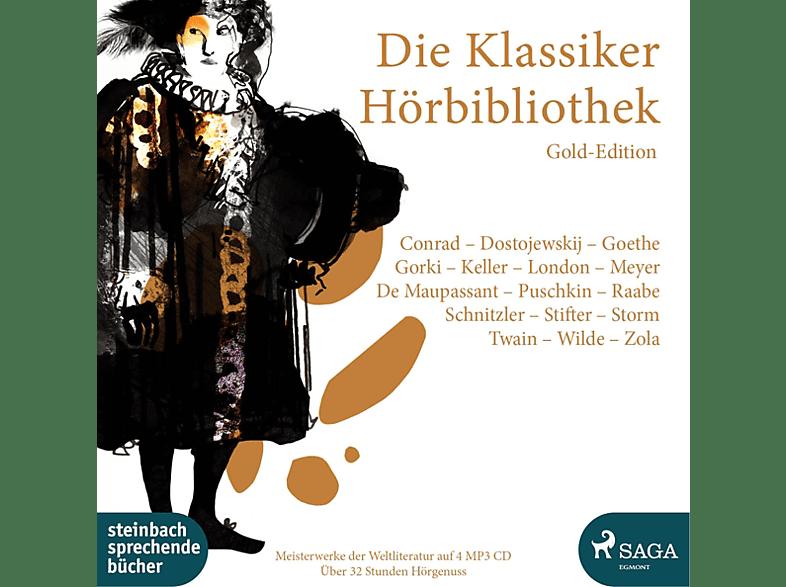 VARIOUS - Die Klassiker Hörbibliothek Gold Edition - (MP3-CD)