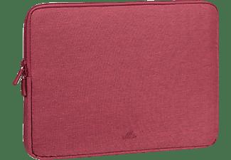 RIVACASE 7703 Notebooktasche Sleeve für Universal Polyester, Rot