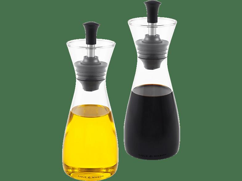 COLE & MASON H103018 Öl- und Essig Ausgießer-Set