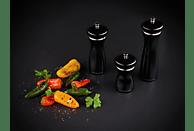 COLE & MASON HS0885P Sherwood Black Gloss Salzmühle