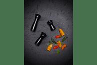 COLE & MASON HS0888P Sherwood Black Gloss Salz-/Pfeffermühle