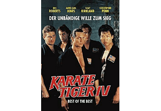 KARATE TIGER 4 - BEST OF THE BEST (O-CARD) UNCUT - (DVD)