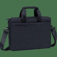 RIVACASE 8325 Notebooktasche, Aktentasche, 13.3 Zoll, Schwarz
