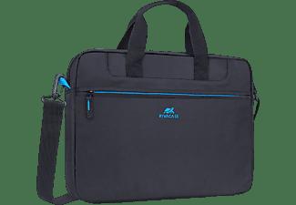 RIVACASE 8037 Notebooktasche Aktentasche für Universal Polyester, Schwarz