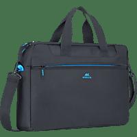 RIVACASE 8057 Notebooktasche, Aktentasche, 15 Zoll, Schwarz