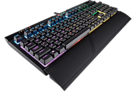 CORSAIR STRAFE RGB MK.2, mechanische Gaming-Tastatur mit Cherry MX Silent-Tasten, Gaming Tastatur, Mechanisch, Cherry MX Silent Black