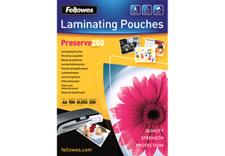 FELLOWES 5401802 - Laminierfolientasche (Glänzend Transparent)