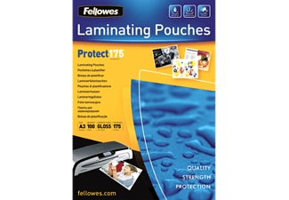 FELLOWES Pochette plastique - Feuille de plastification de carte (Transparent)